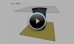[自動車] 複合材料の圧壊